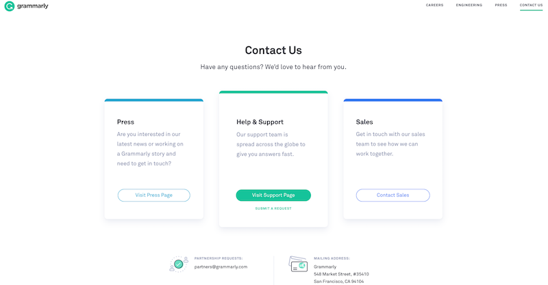 grammarly-contact-page