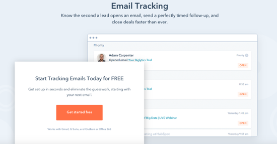 how to track emails in hubspot