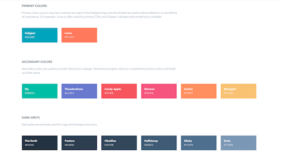 hubspot-style-guide-color-palette