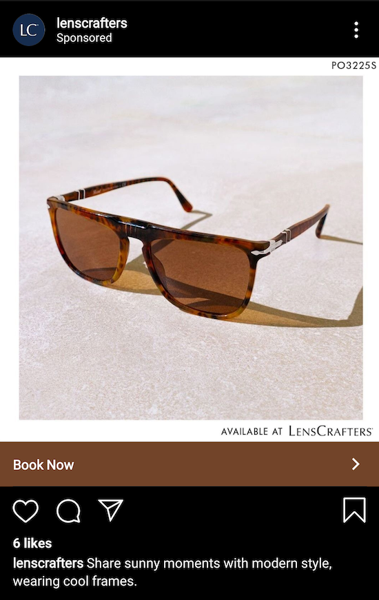 lenscrafters-instagram-ad