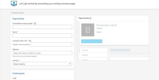 linkedin-showcase-data-entry-form