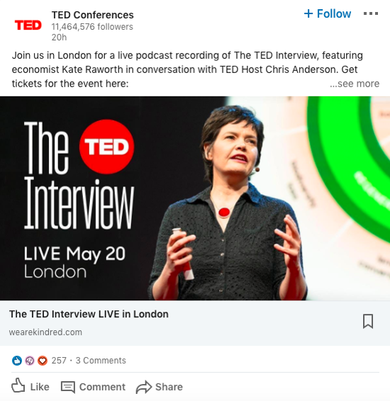 linkedin-ted-talk