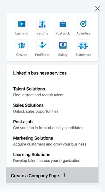 linkedin-work-menu