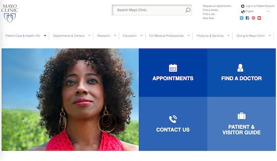 mayo-clinic-homepage