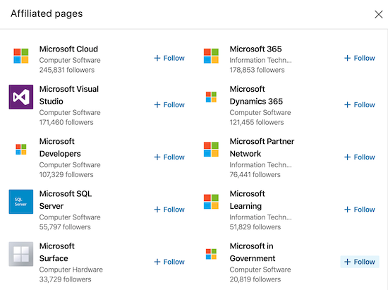 microsoft-showcase-pages