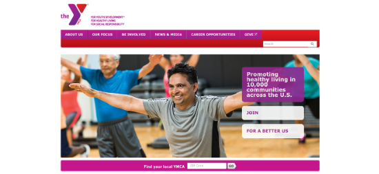 nonprofit-ymca-website
