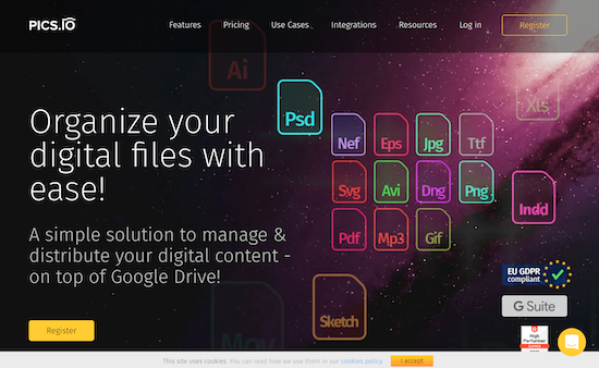 pics.io-homepage