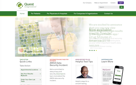 quest-diagnostics-homepage