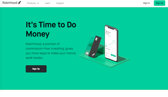 robinhood-homepage