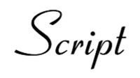 script-font-example