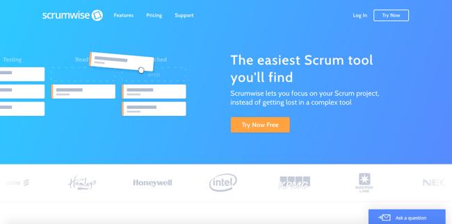 scrumwise-homepage