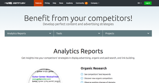 SEO competitive analysis tools
