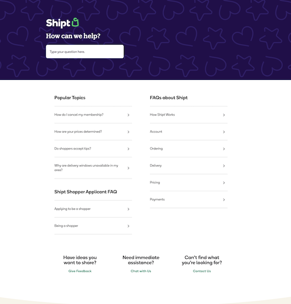 shipt-knowledge-base