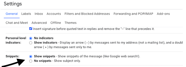 snippets-settings-gmail