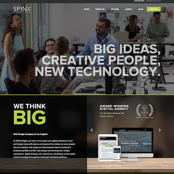 spinx-digital-homepage