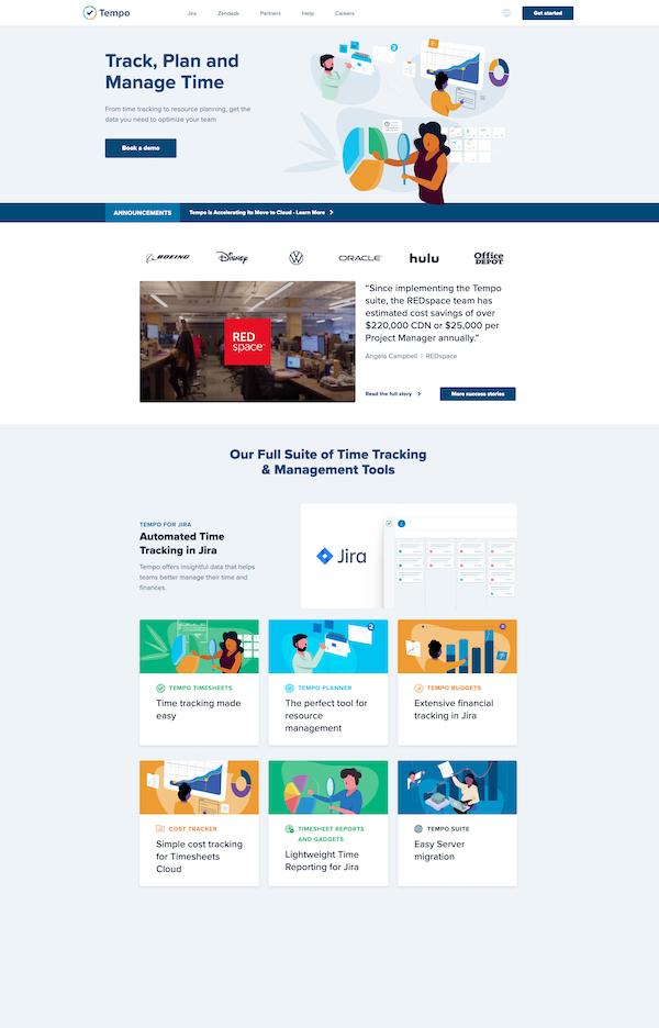 tempo-homepage
