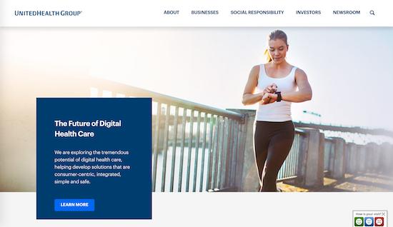 unitedhealth-group-homepage