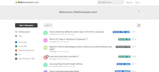 webdeveloper.com