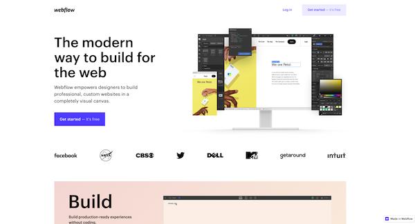 webflow-homepage