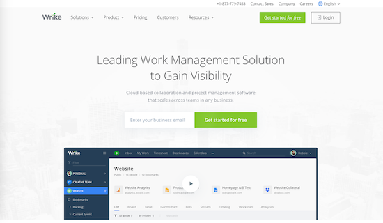 write project management tool