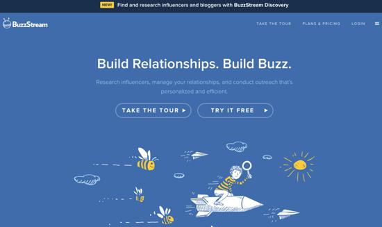 Buzzstream homepage-1