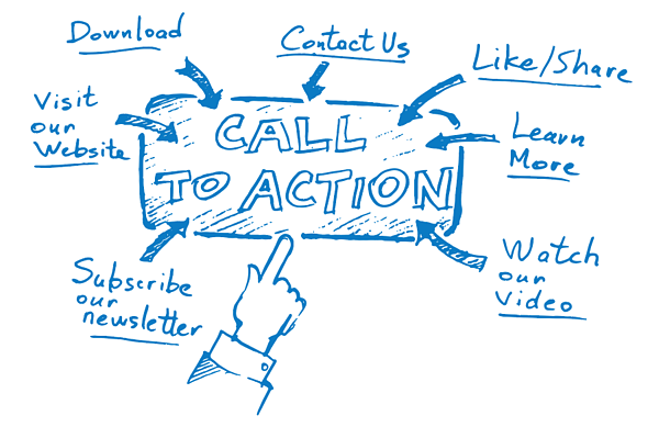 Call To Action for web design