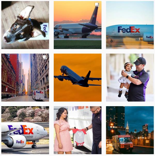 Fedex instagram main