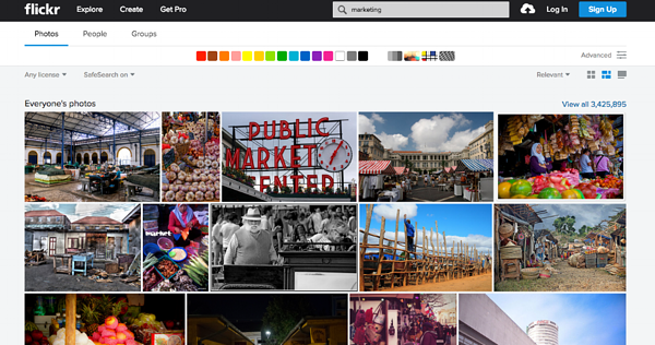 Flickr Stock Images