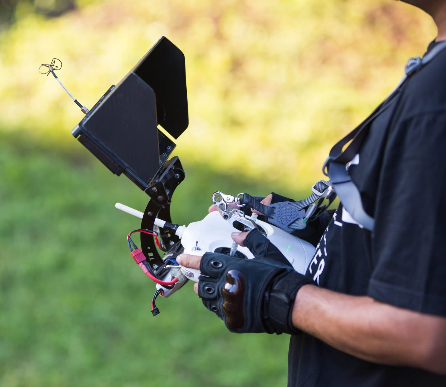 Hiring a drone operator for your aerial shots is much more affordable than hiring a plane or helicopter pilot.