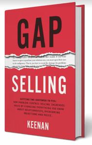 Gap Selling book