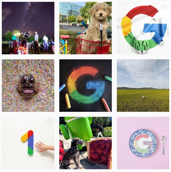Google instagram main