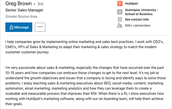 7 Engaging Linkedin Summary Examples How To Write Yours