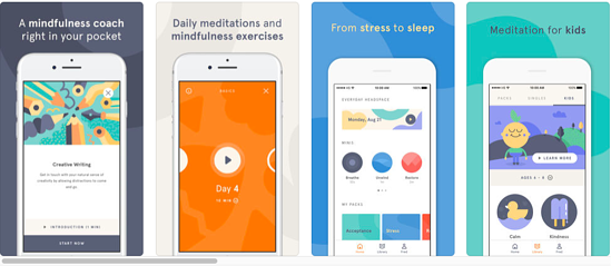 Headspace screenshot