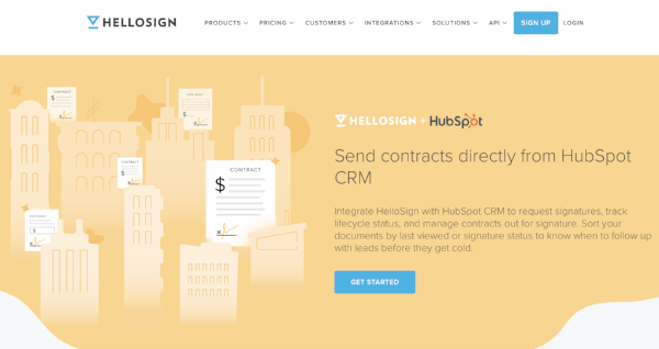 HelloSign HubSpot Integration