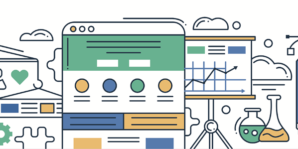 Homepage design examples
