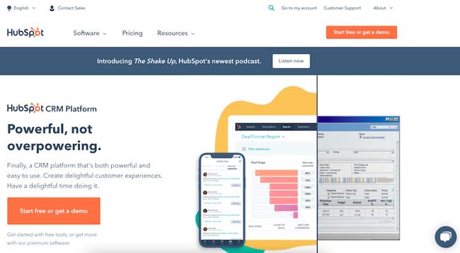 HubSpot Homepage-1