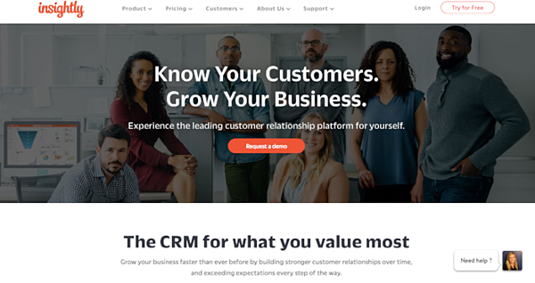 Insightly for CRM