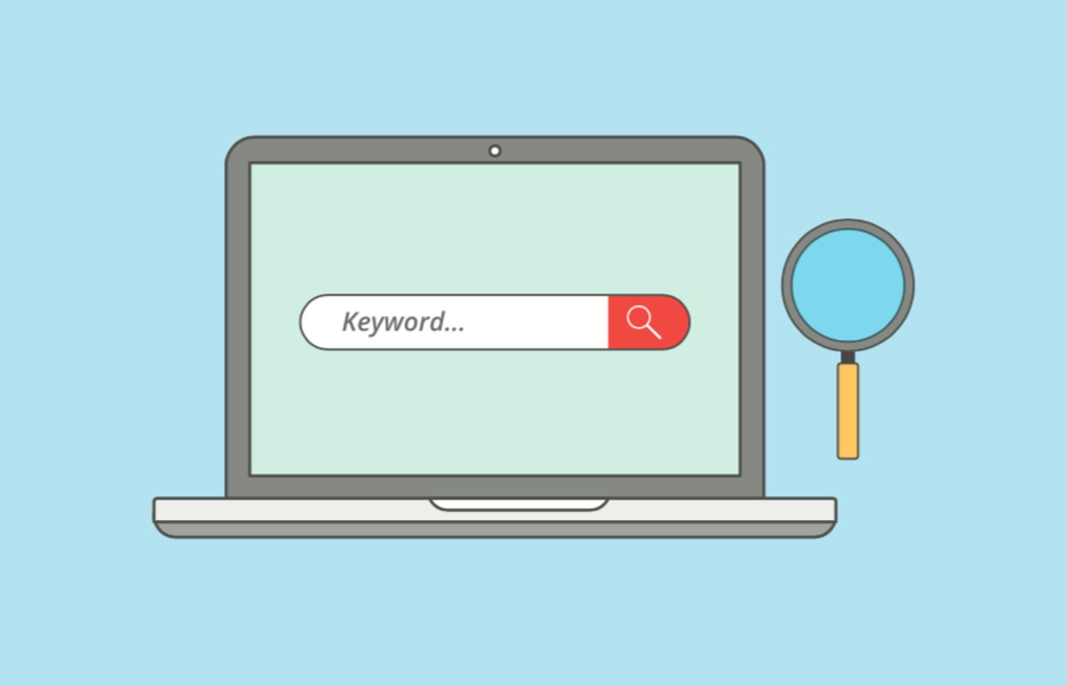 keywords are your friend