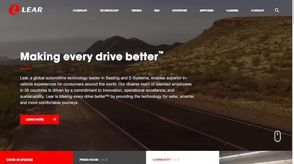 Lear-website