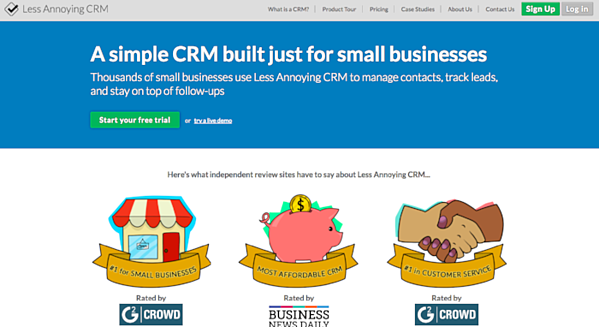 Less Annoying CRM for CRM
