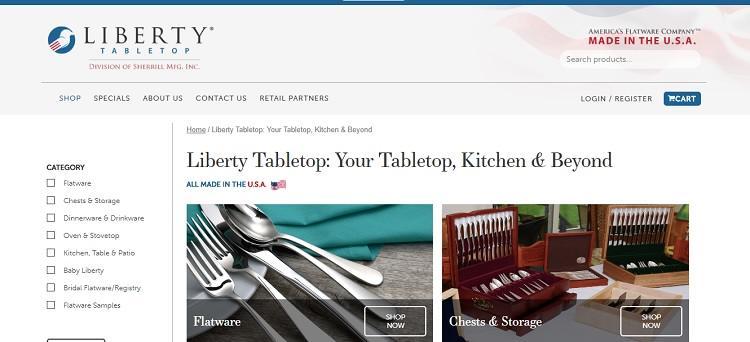 Liberty Tabletop