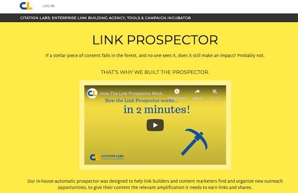 Link-prospector-homepage
