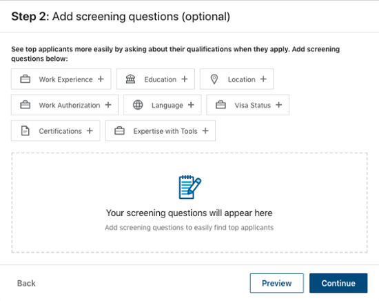 Linkedin-Job-Ad-Step-Four