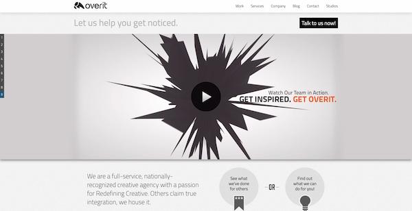 Overit-homepage