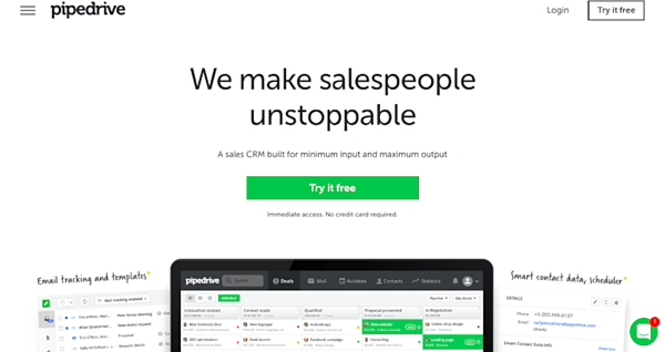 Pipedrive for CRM