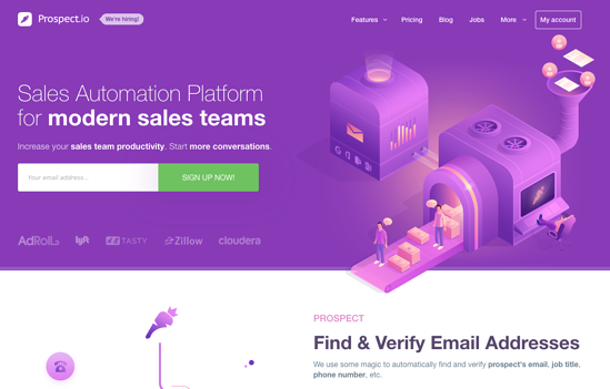Prospect.io-homepage-2019
