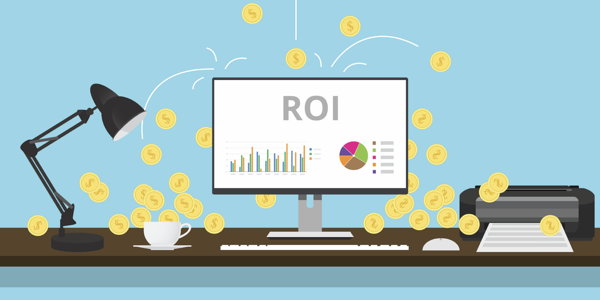ROI content marketing stats