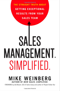 Sales Management Simplified book