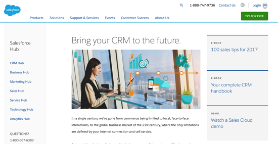 Salesforce-CRM-homepage-2019