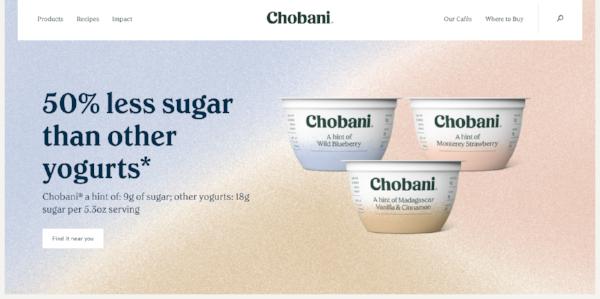 Chobani B2C marketing